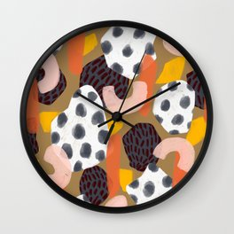 Fondu Wall Clock