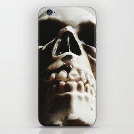 high contrast halloween iPhone Skin