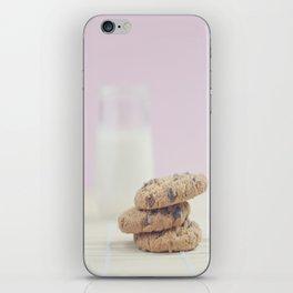 milk and cookies iPhone Skin