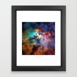 Lagoon Nebula Framed Art Print