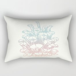 Rainbow Pine Cone Rectangular Pillow