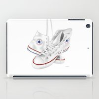 converse iPad Cases featuring Converse by Kenny Risk