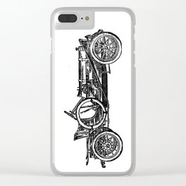 Old car 3 Clear iPhone Case