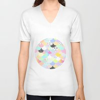 sprinkles V-neck T-shirts featuring Ice Cream & Sprinkles by Holly Ent