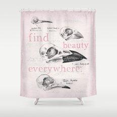 Bird Skulls Shower Curtain