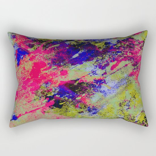 Colour Abstract #13 Rectangular Pillow
