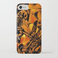 band iPhone & iPod Cases featuring band by borma toyen