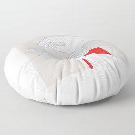Hand Sanitizer Monoline Floor Pillow