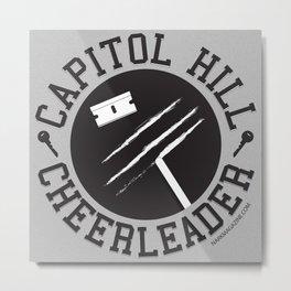 Capitol Hill Cheerleader Metal Print