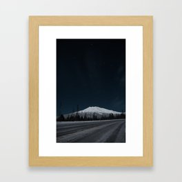 Mt. Bachelor Framed Art Print