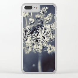 Flower B4 Clear iPhone Case