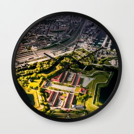 The Fortress Wall Clock