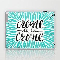 Crème de la Crème – Turquoise Laptop & iPad Skin