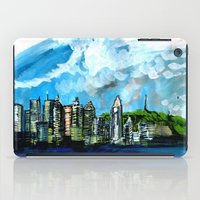 montreal iPad Cases featuring Montreal Waterscape by Gersande