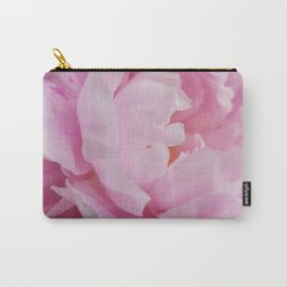 Floral Fun - Peony in pink 4 soft and billowy Carry-All Pouch