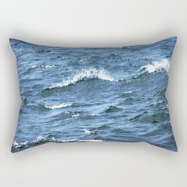 The Tides Will Roll Rectangular Pillow