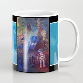 """""""13 in 50"""" a Tribute to Doctor Who Coffee Mug"""