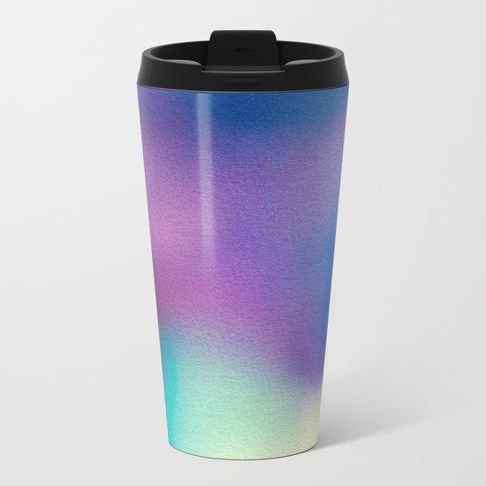 BLUR / ghosts Metal Travel Mug