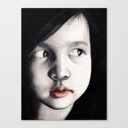 oriental girl Canvas Print