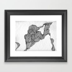 Musculaire Framed Art Print