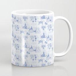 Winnipeg Summer Toile Coffee Mug