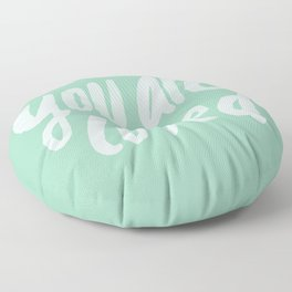 You Are Loved x Mint Floor Pillow