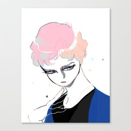Glass Eyed Boy Canvas Print