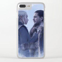 Jonerys (Dany and Jon) Pact Artwork Clear iPhone Case