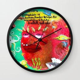 The Trumphish Wall Clock