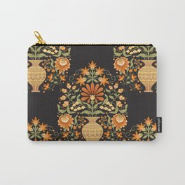 Seamless pattern tradition mughal floral motif Carry-All Pouch