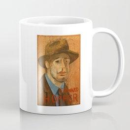 50 Artists: Edward Hopper Coffee Mug
