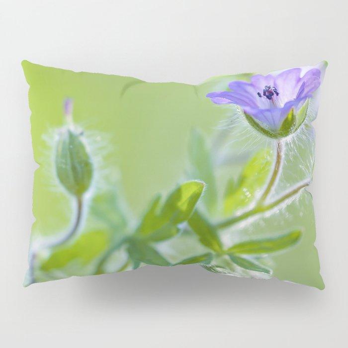 Purple wildflowers Pillow Sham