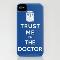 Trust Me I`m The Doctor Slim Case iPhone (4, 4s)