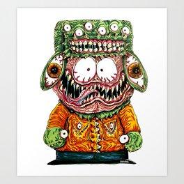 Monster Boy Art Print