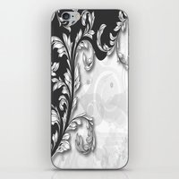 back to the future iPhone & iPod Skins featuring Back To The Future by Robin Curtiss