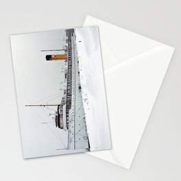 SS Keewatin in Winter White Stationery Cards