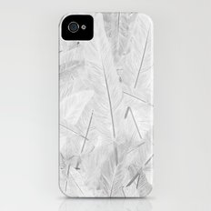 Feathered (Pattern). iPhone (4, 4s) Slim Case