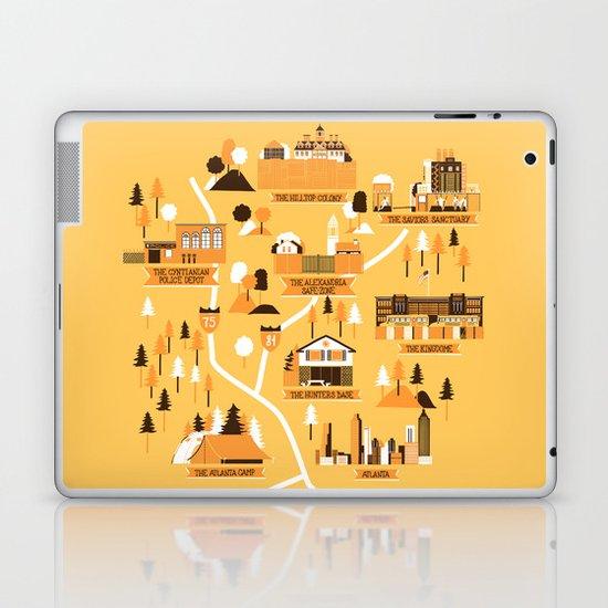Survivors Map Laptop & iPad Skin