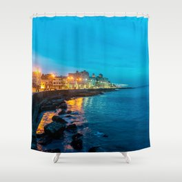 La Vida Nocturna Shower Curtain