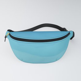 Powder Blue, Periwinkle Lacey Waves Fanny Pack