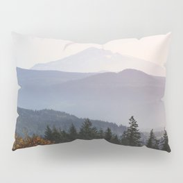 Mount Hood over the Columbia River Gorge Pillow Sham