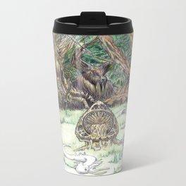 RHX Forest Logo Metal Travel Mug