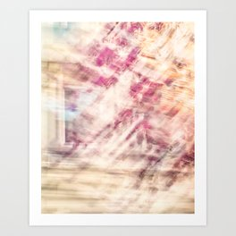 Sakura Impression Art Print
