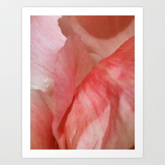 Waves of Pink - Peonies Art Print