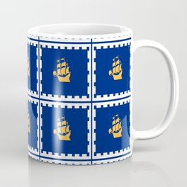 flag of quebec city – laurent, vieille capitale,quebeques,quebecker,beauport,limoilou. Coffee Mug