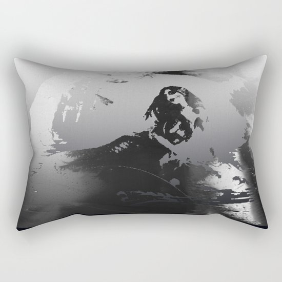 Death Siren Road Rectangular Pillow