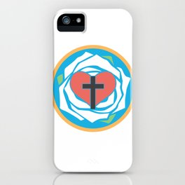 Martin Luther's Seal  iPhone Case