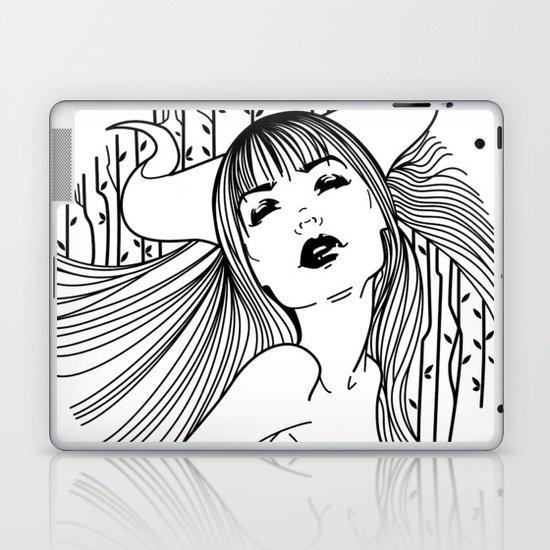 Misty Mornings Laptop & iPad Skin