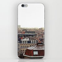 brussels iPhone & iPod Skins featuring Brussels by Anastasiia Prysiazhniuk