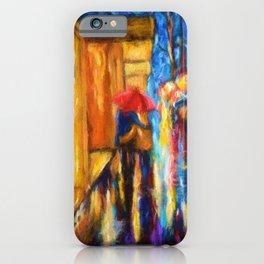 Love In The Rain iPhone Case